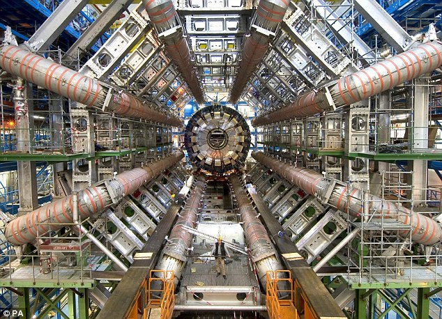 God particle is 'found': Scientists at Cern expected to announce Higgs boson particle has been discovered on Wednesday