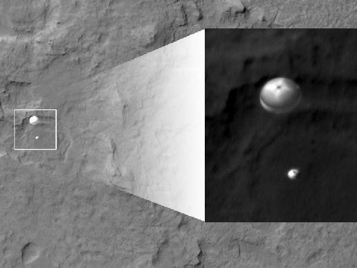 Curiosity Rover Landing