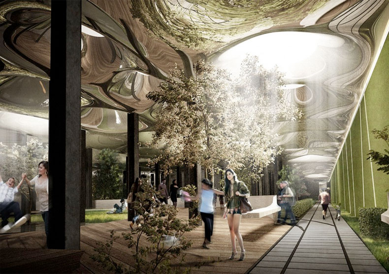 Tunnel Vision: Subterranean Park to Stay Sunny with Fiber-Optic Skylights [Slide Show]: Scientific American
